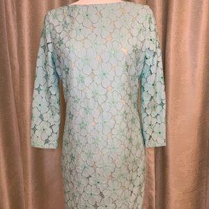 Diane von Furstenberg Sarita Flower Lace Dress